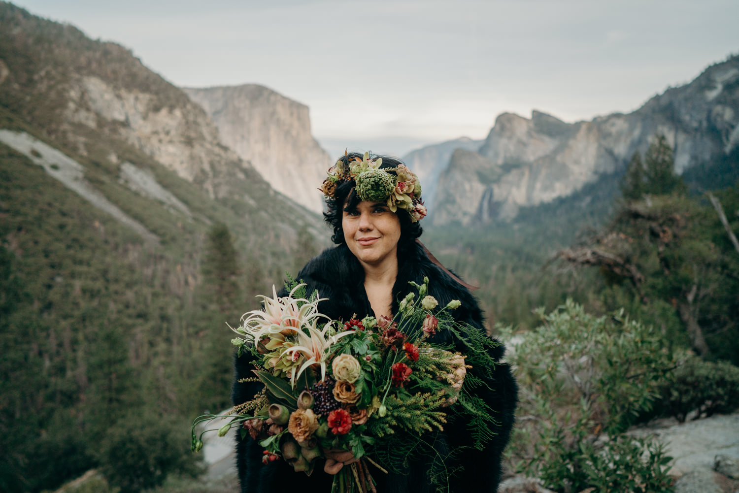 bride rock'n roll yosemite