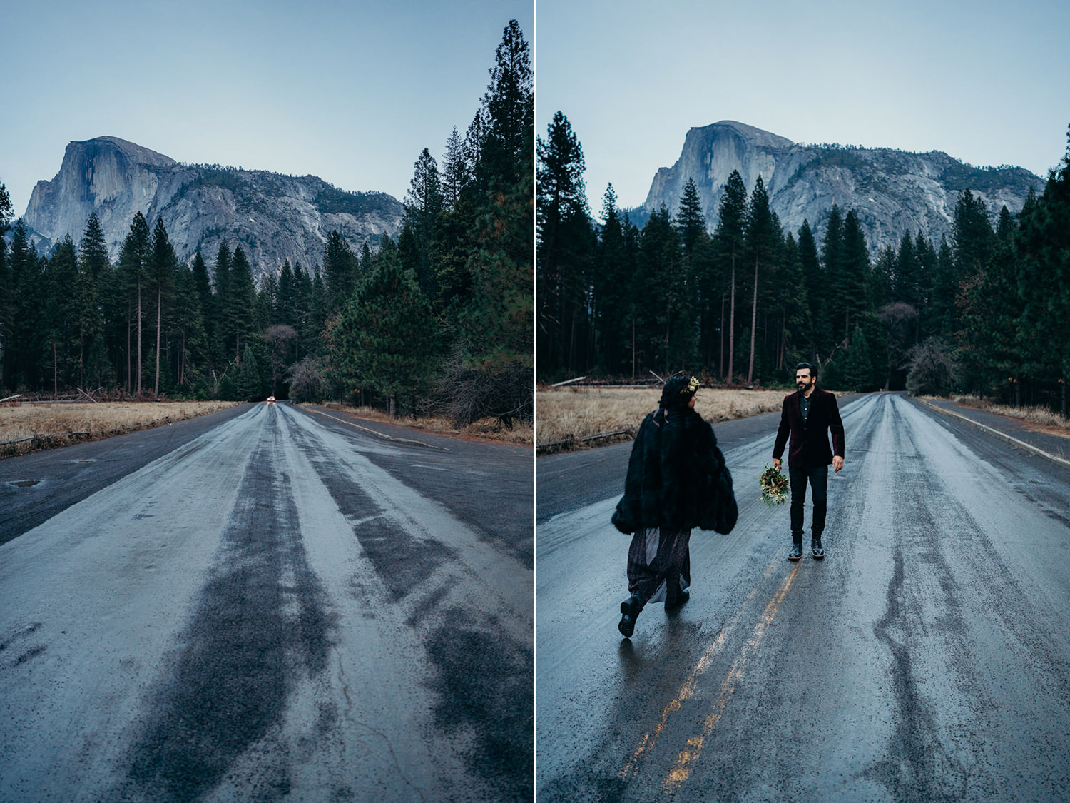 elopement rock style yosemite valley